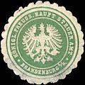 Siegelmarke Königlich Preussische Haupt Steuer Amt - Brandenburg W0215264.jpg