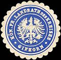 Siegelmarke Königlich Preussischer Landrath des Kreises - Gifhorn W0221180.jpg