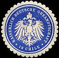 Siegelmarke Kaiserlich Deutsche Gesandtschaft in Chile W0227038.jpg