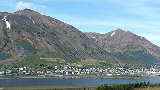 Siglufjörður - View over Siglufjörður