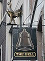 Sign for The Bell, Bush Lane, EC4 - geograph.org.uk - 1094385.jpg