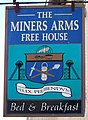 Sign for the Miners Arms, North Molton - geograph.org.uk - 730212.jpg