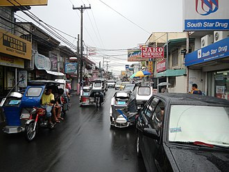Silang, Cavite - Downtown area
