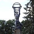 Sillamäe Soviet atomic statue 1987.jpg