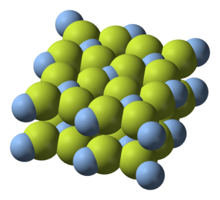 Silver(II) fluoride chemical compound (AgF₂)