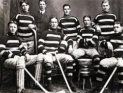 "Ottawa Hockey Club ""Silver Seven"", the Champion of the Stanley Cup in 1905"