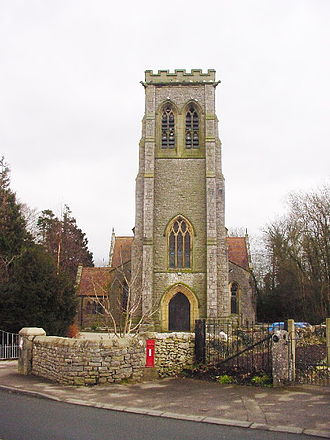 Silverdale, Lancashire - The parish church of St John