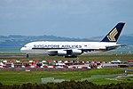 Singapore Airlines Airbus A380-841 9V-SKA SQ286 AKL-SIN dep AKL (25157397136).jpg