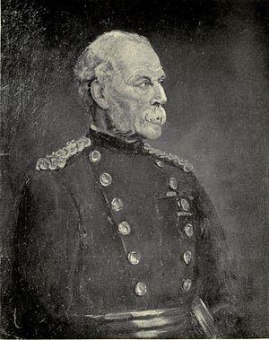 Frederick Stephenson (British Army officer) - Sir Frederick Stephenson, an oil sketch by Lady Munro