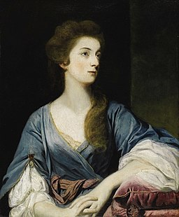 Sir Joshua Reynolds - Portrait of Miss Elizabeth Greenway