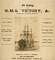 Six etchings of H.M.S. Victory &c. Commemorative of Lord Nelson. (Cover of book) RMG PU5988.jpg
