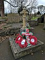 Skegby War Memorial, Near entrance to St Andrews Church, Mansfield Road, Skegby (2).jpg