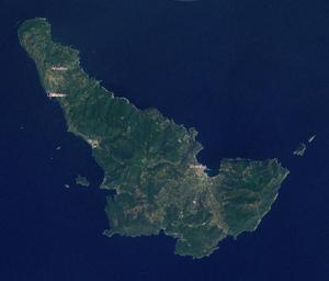 Skopelos satellite map