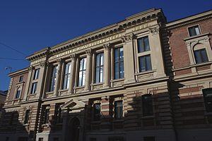 Finnish Literature Society - Facade of the society's headquarters in Helsinki