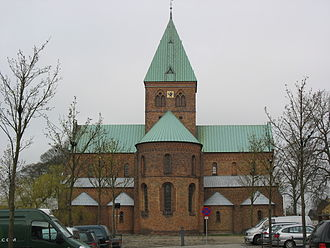 Ringsted Abbey - St. Benedict's church in Ringsted