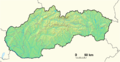 Slovakia Location GeoMap.png
