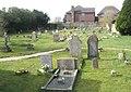 Small cemetery behind St James Church - geograph.org.uk - 1193316.jpg