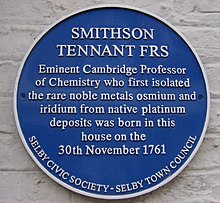 Smithson Tennant Blue Plaque.jpg