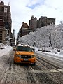 Snow in New York City - Madison Square Park by Flatiron Building.jpg