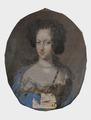 Sofia Amalia, 1670-1710, prinsessa av Holstein-Gottorp (David von Krafft) - Nationalmuseum - 14724.tif