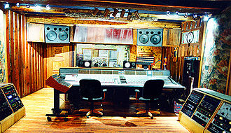 Sonic Ranch - The A Studio Control Room