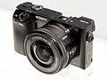 Sony Alpha ILCE-6000 2014 CP+.jpg