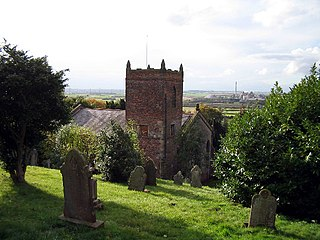 South Ferriby village in the United Kingdom