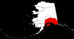 Southcentral Alaska - Map of Southcentral Alaska