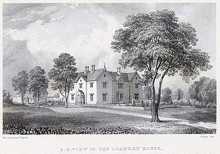 Southeast view of the Deanery House, St. Asaph