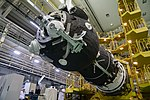 Soyuz MS-12 spacecraft in the integration facility (4).jpg