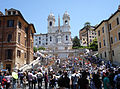 Spanish Steps and Trinità dei Monti church - Rome.JPG
