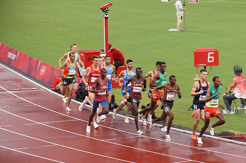 File:Spc. Benard Keter makes the finals in 3,000m steeplechase (51356284936).jpg DescriptionSpc. Benard Keter raced in the men's 3,000 meter steeple chase finals Aug 2, at the 2020 Summer Olympic Games. The Soldier in the World Class Athlete Program placed 11th. Photo by Brittany Nelson