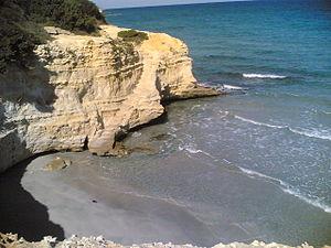 Salento - Beach in Conca Specchiulla, north of Otranto.