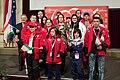 Special Olympics World Winter Games 2017 reception Vienna - Tajikistan 01.jpg