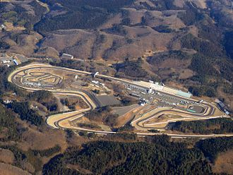 Sportsland Sugo - Aerial view of the circuit