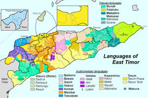 Sprachen Osttimors-en
