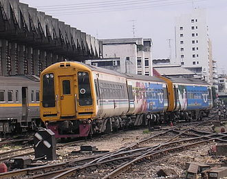 Regional Railways - A Class 158 operated by State Railway of Thailand which is painted in Regional Railways livery
