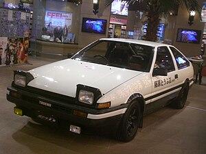 Initial D - A replica of Takumi's AE86