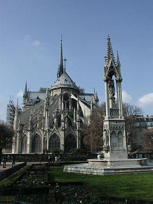 Squares in Paris - Pope John XXIII Square, Paris