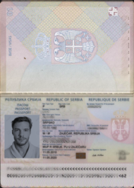 Serbian Passport Wikipedia