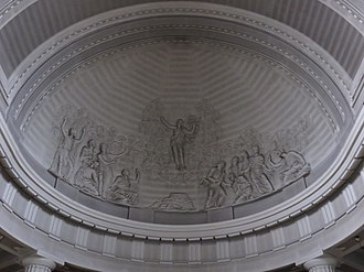 St Mary's Pro-Cathedral - Detail of the apse