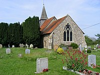 St. Michael and All Angels church, Leaden Roding. - geograph.org.uk - 1371601.jpg