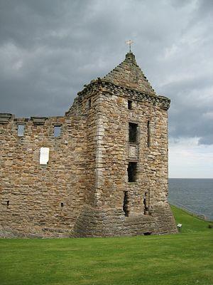 St Andrews Castle Ruins 2007
