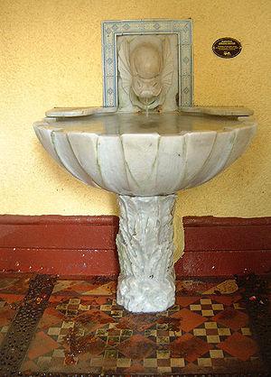 St. Ann's Well, Malvern - St Ann's Well Spout