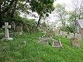 St Catherine's Chapel (Niton Baptist Church), Institute Hill, Niton (May 2016) (Graveyard) (2).JPG