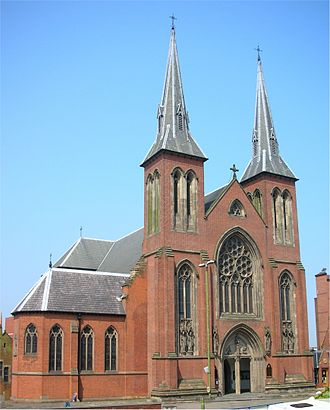 St Chad's Cathedral, Birmingham - The west front