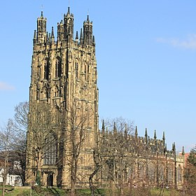 St Giles' Church, Wrexham (geograph 4885639 cropped).jpg