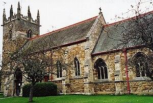 Laceby - Image: St Margarets Laceby