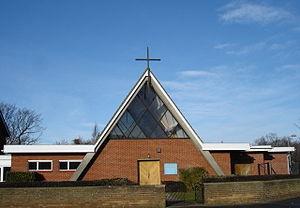 St Mark, Ipswich - Image: St Mark's catholic church geograph.org.uk 1115433