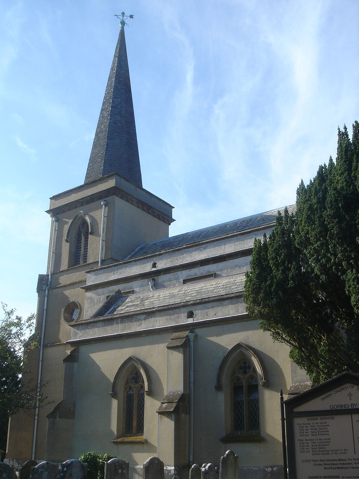 St Mary's Church, Goring-by-Sea - Wikipedia